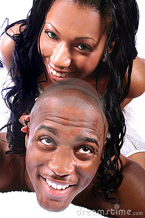 Free Happy African American Couple Stock Image - 788151