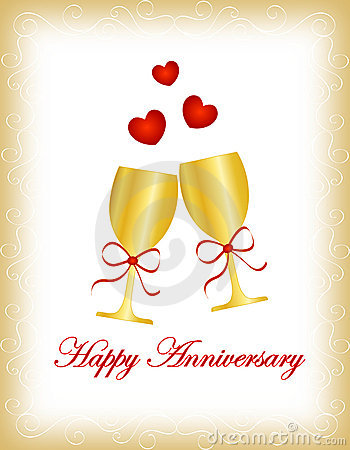Free Happy Anniversary Royalty Free Stock Photography - 16185747