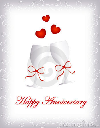 Free Happy Anniversary Royalty Free Stock Photos - 16185768