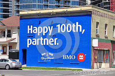 Happy Anniversary Stampede Editorial Image