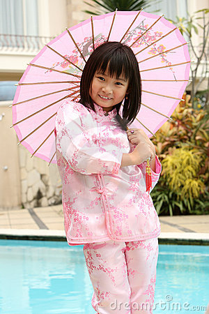 Happy Asian Child