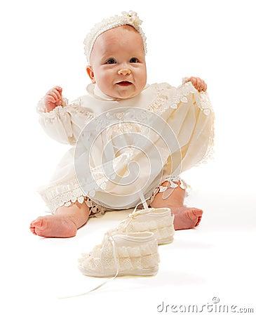 Free Happy Baby Royalty Free Stock Photos - 8440338