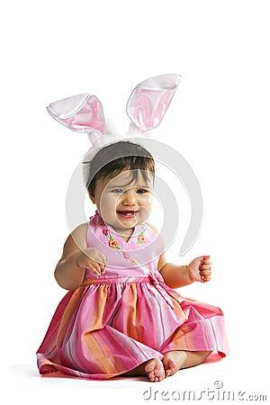 Happy Baby Bunny
