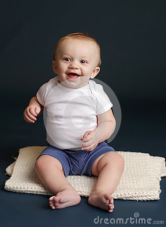 Happy Baby Laughing Smiling