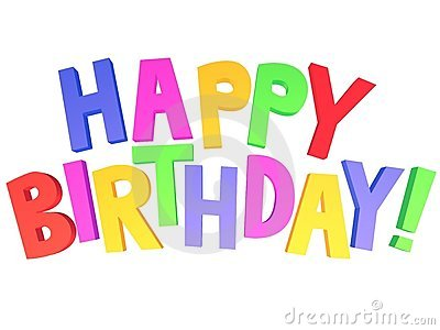 Happy Birthday 3d Graffiti Stock Photo Image 22836350