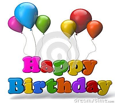 Free Happy Birthday Royalty Free Stock Photo - 43133305