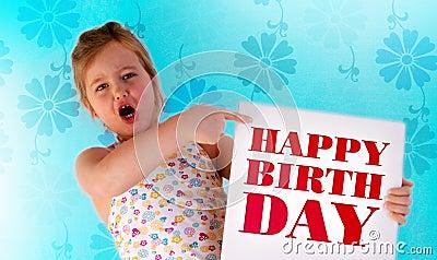 The happy birthday