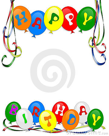 birthday invitations, borders and backgrounds photos, images, Birthday invitations