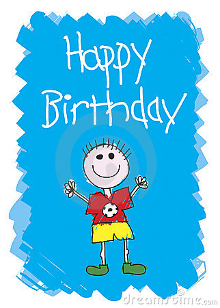 Free Happy Birthday - Boy Royalty Free Stock Images - 2954159