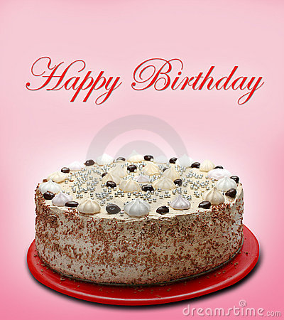 Decoratebirthday Cake on Happy Birthday Cake Stock Images   Image  12907694