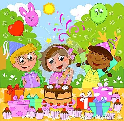 Free Happy Birthday Girl! Stock Photo - 19473370