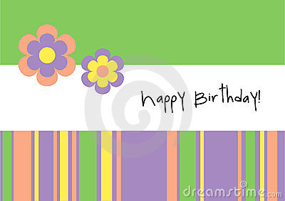 Happy Birthday! - Greeting Card
