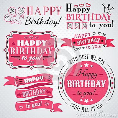 happy birthday letter style happy birthday greeting card collection in stock 8820