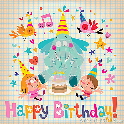 Happy Birthday Cards For Kids gangcraftnet – Birthday Cards for Kids