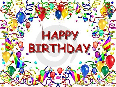 Posters Print on Royalty Free Stock Photography  Happy Birthday Poster  Image  5552097