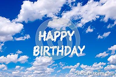 Happy Birthday Stock Photography Image 35598362