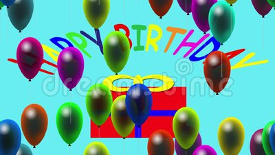 happy birthday video stock footage illustration of holiday 49840578