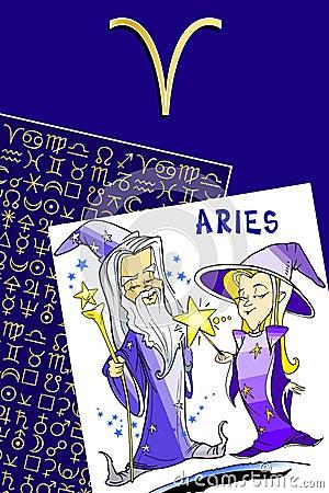 Royalty Free Stock Photo: Happy birthday - zodiac sign