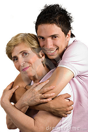 Free Happy Bonding Mother And Son Royalty Free Stock Images - 9700439