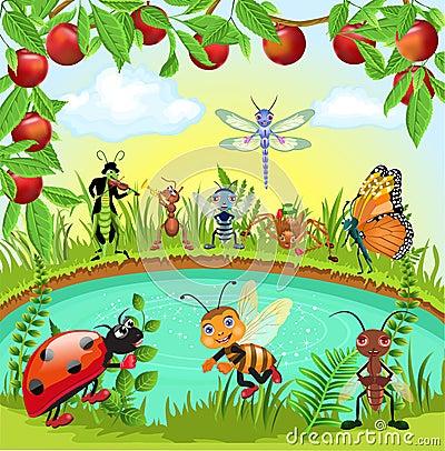 Happy bugs world