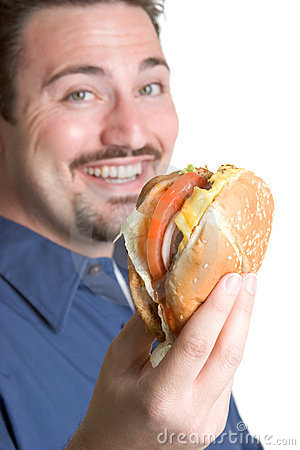 Happy Burger Man