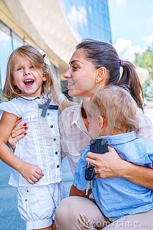 Free Happy Business Mother Stock Photos - 33125463