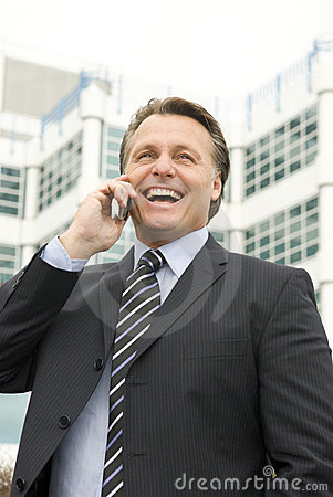 Free Happy Businessman Stock Photos - 7147713