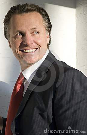 Free Happy Businessman Stock Photography - 7651032