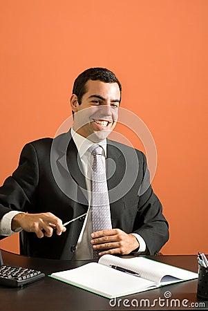 Happy Businessman - Vertical