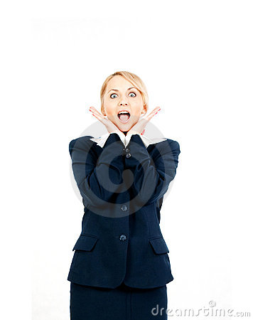 Free Happy Businesswoman Royalty Free Stock Photos - 14626788