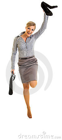 Happy Businesswoman Royalty Free Stock Photos - Image: 24047628