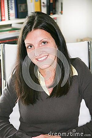 Free Happy Businesswoman Looking Camera Head Shot Portrait Friendly Attractive Life Coach Posing Stock Photos - 117239553