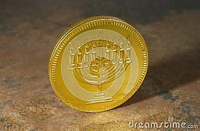 Happy Chanukah Coin