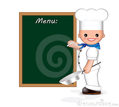 Happy chef (menu)