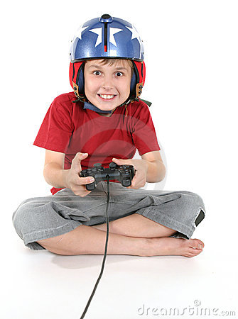 Free Happy Child Playing Games Stock Photos - 1373363