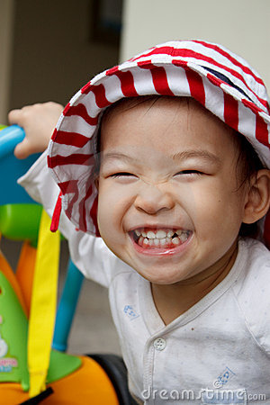 Free Happy Child With A Big Smile :) Stock Photos - 15702423