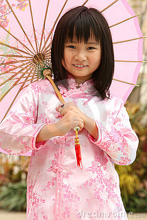 Happy Chinese Child