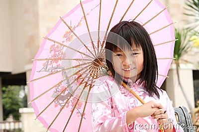 Happy Chinese Child