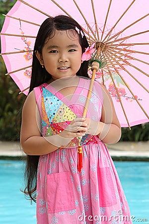 Happy Chinese Girl