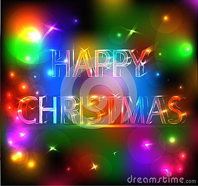 Happy Christmas Bright Effect
