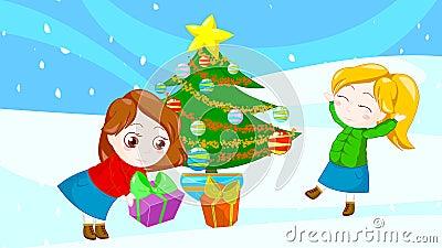 Happy christmas friends