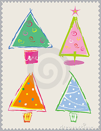 Happy Christmas Trees