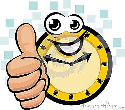 Happy clock