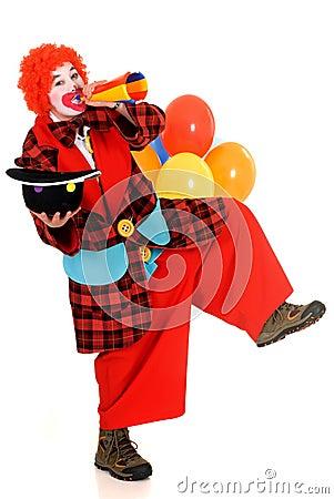 Free Happy Clown Royalty Free Stock Image - 10078596