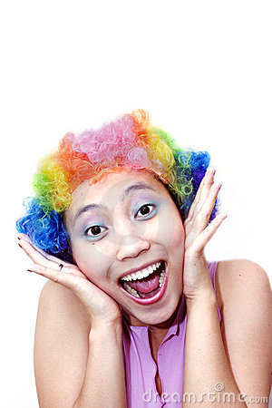 Happy Clown Stock Photo - Image: 311310