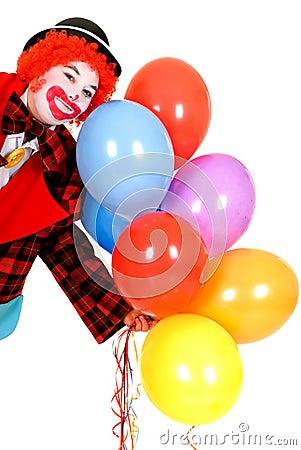 Free Happy Clown Royalty Free Stock Photo - 8434285