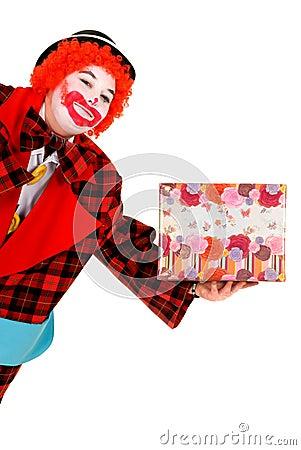 Happy clown