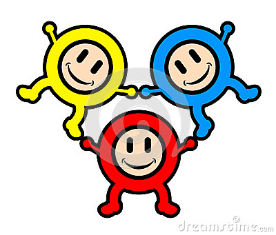 Happy color kids