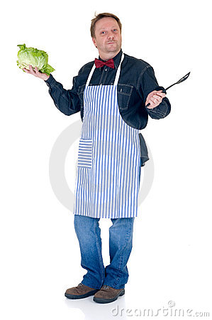 Free Happy Cook Stock Photography - 9041002