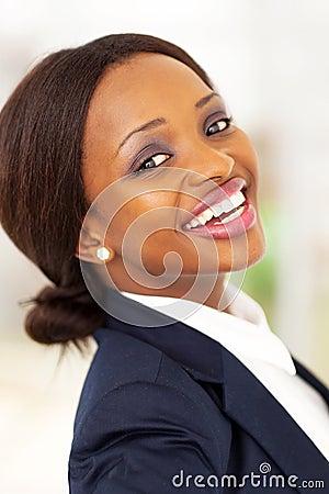 Happy corporate worker